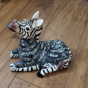 Beautiful Mosaic Zebra Statue